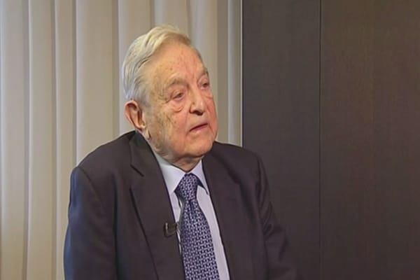 Soros: China resembles 2008 US crash