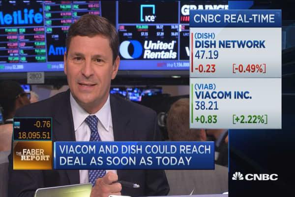 Faber Report: Viacom & Dish near deal