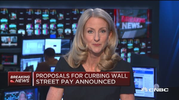 New proposals for curbing Wall St. pay