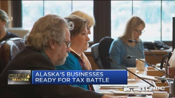 Alaska's budget battle