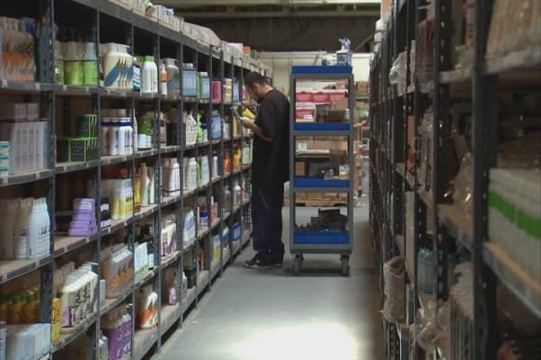 Thrive Market warehouse
