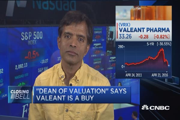 Valuing Valeant