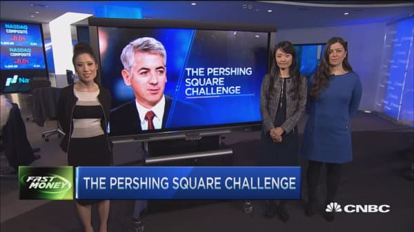 The Pershing Square Challenge