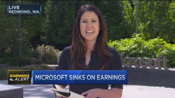 MSFT earnings call: Overall a 'solid quarter'