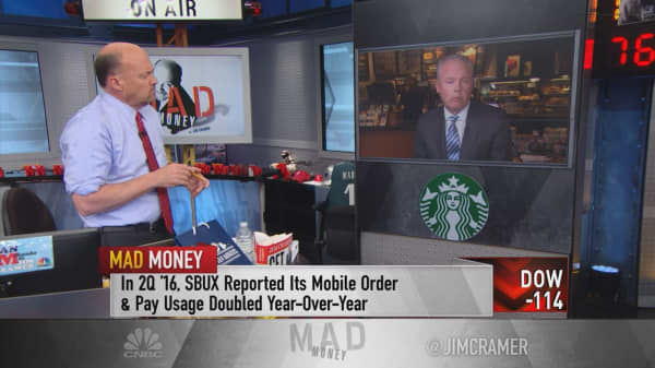 Starbucks Prez: Great story under the numbers