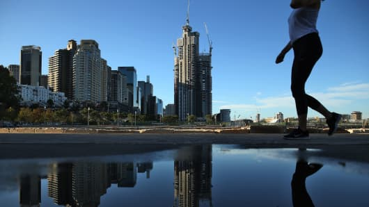 Sydney, Australia. For the last three months of 2015, prices in the city fell 1.6 percent for the quarter, the first decline since 2012, according to government statistics.