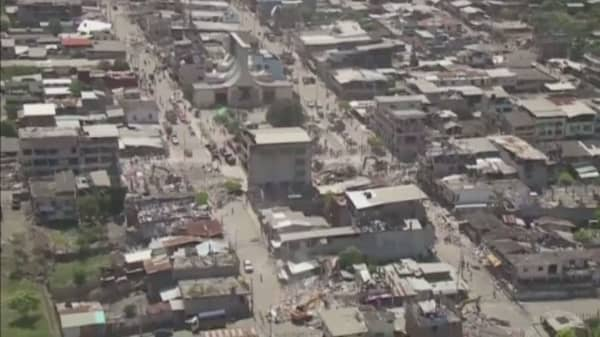 Ecuador shaken by another earthquake