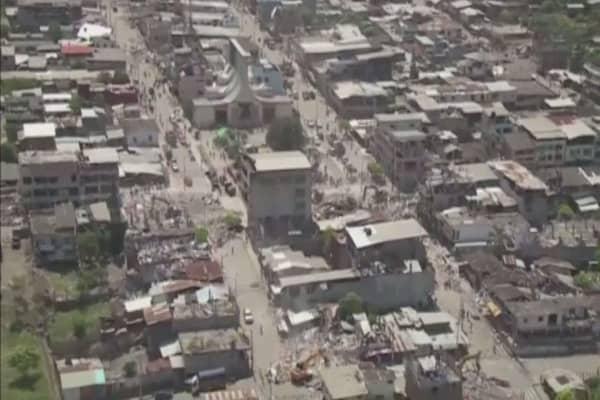 Ecuador shaken by another earthquake