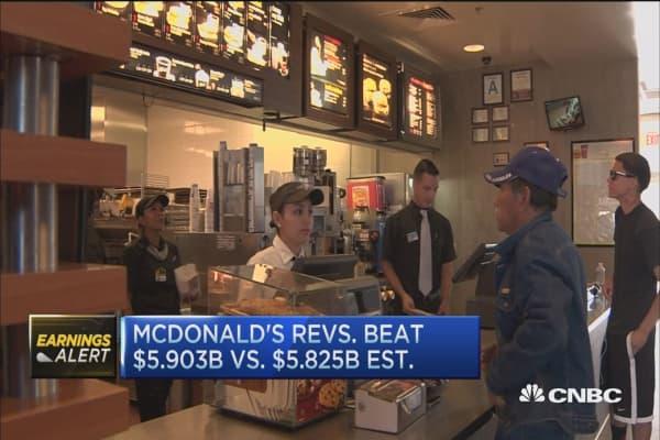 McDonald's all-day breakfast fuels beat