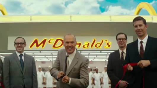 Michael Keaton stars in The Founder.