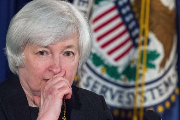 Federal Reserve Board Chairman Janet Yellen.