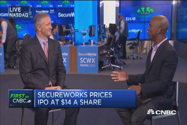 Dell's spinoff, SecureWorks, now open for trading: CEO