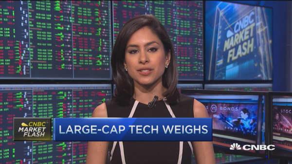 Tough day for Tech stocks