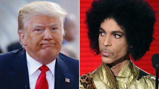 Donald Trump tweeted he is going to miss Prince.