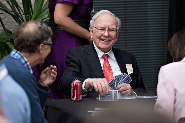 Warren Buffett, chairman of Berkshire Hathaway