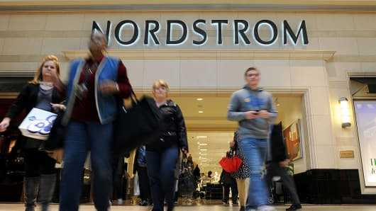 Nordstrom plunges after taking $72 million charge for customer credit card refunds