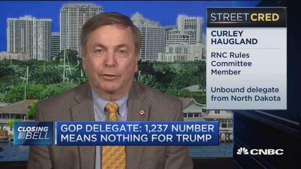 GOP Delegate: 1,237 number means nothing for Trump