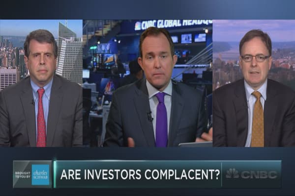 Are investors complacent?