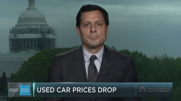 Why used car prices are falling