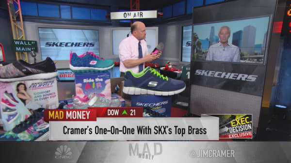 Skechers exec to Cramer: 'We could be monstrously big'