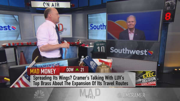 Southwest CEO to Cramer: 'Our people are best in the business'