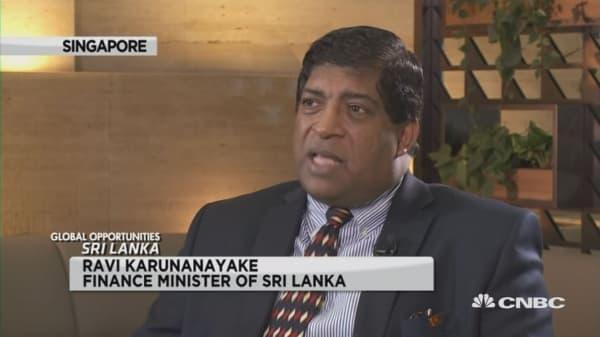 Sri lanka Fin Min