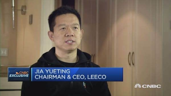 CNBC Exclusive: LeEco CEO