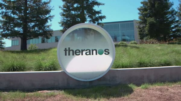 Holmes controls the future of Theranos