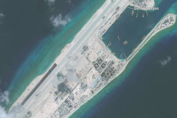 China to build up atoll in South China Sea