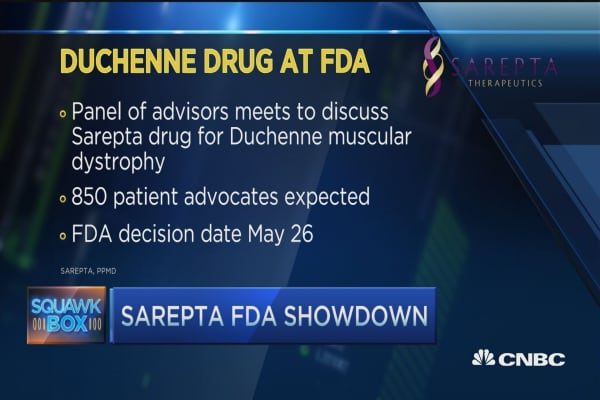 FDA votes on muscular dystrophy drug