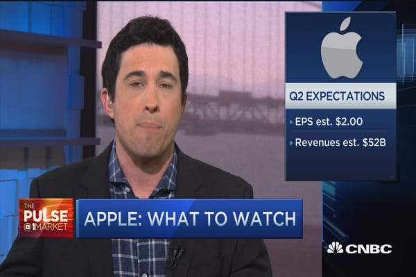 What to watch ahead of Apple's earnings