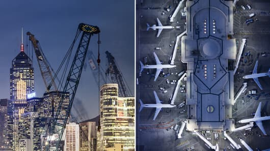 Airplane and construction