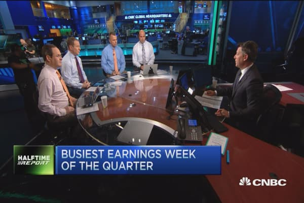 Busiest earnings week of the quarter