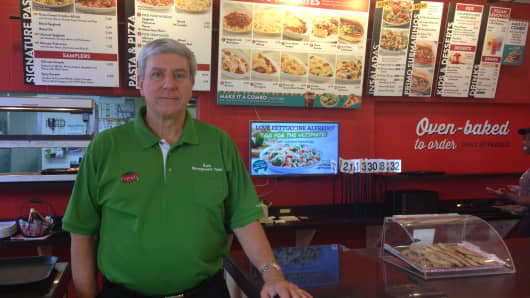 Before purchasing his own Fazoli franchise, Bob Sirkis was a vice president at the parent company that created the brand back in the late '80s.