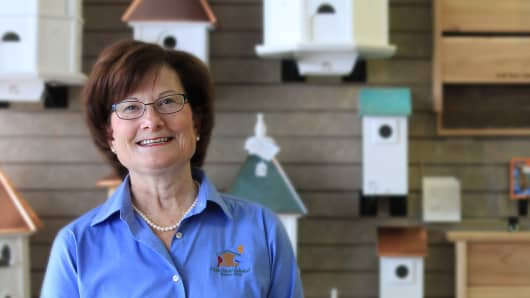 Nature lover Ellen Davis bet on Wild Birds Unlimited after discovering that consumers spend nearly $7B annually on bird-feeding and watching wildlife.