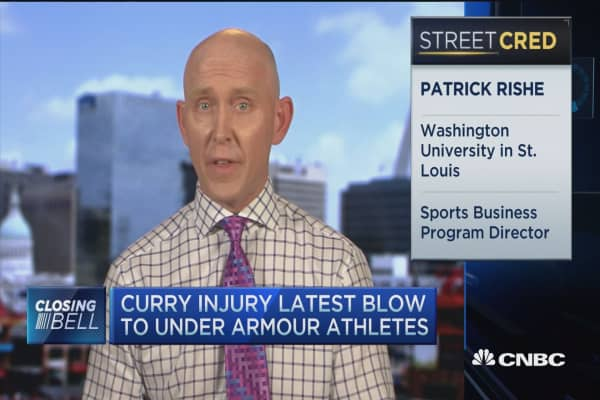 Curry injury latest blow to UA