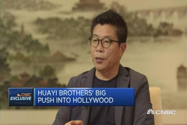 Huayi Brothers' big push into Hollywood