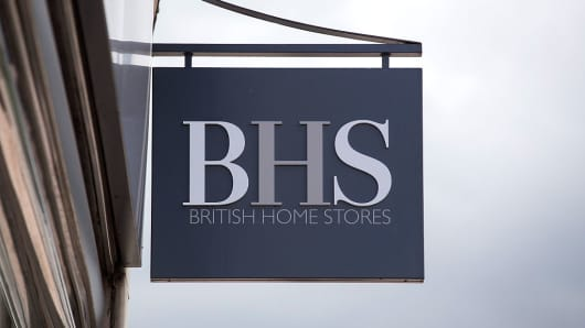 High street retailer British Home Stores (BHS) is filing for administration Monday April 25, 2016, threatening almost 11,000 jobs.