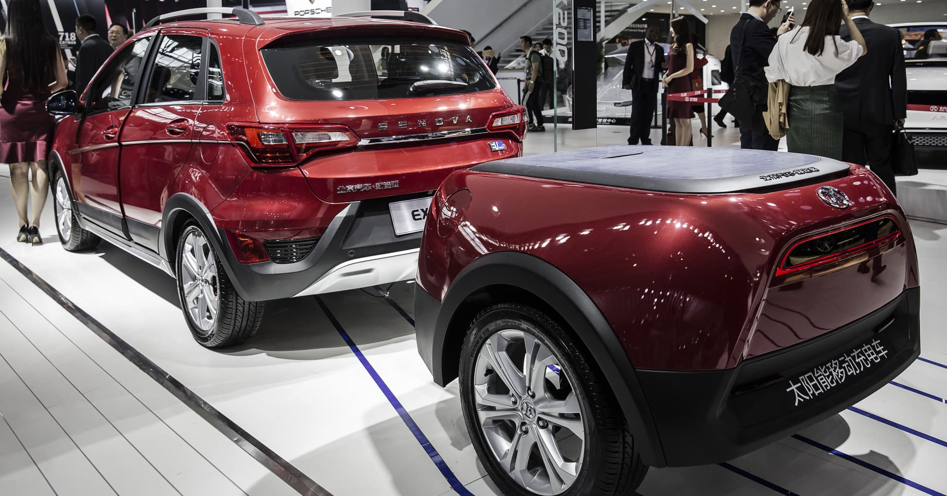 Suvs Dominate The Beijing Auto Show