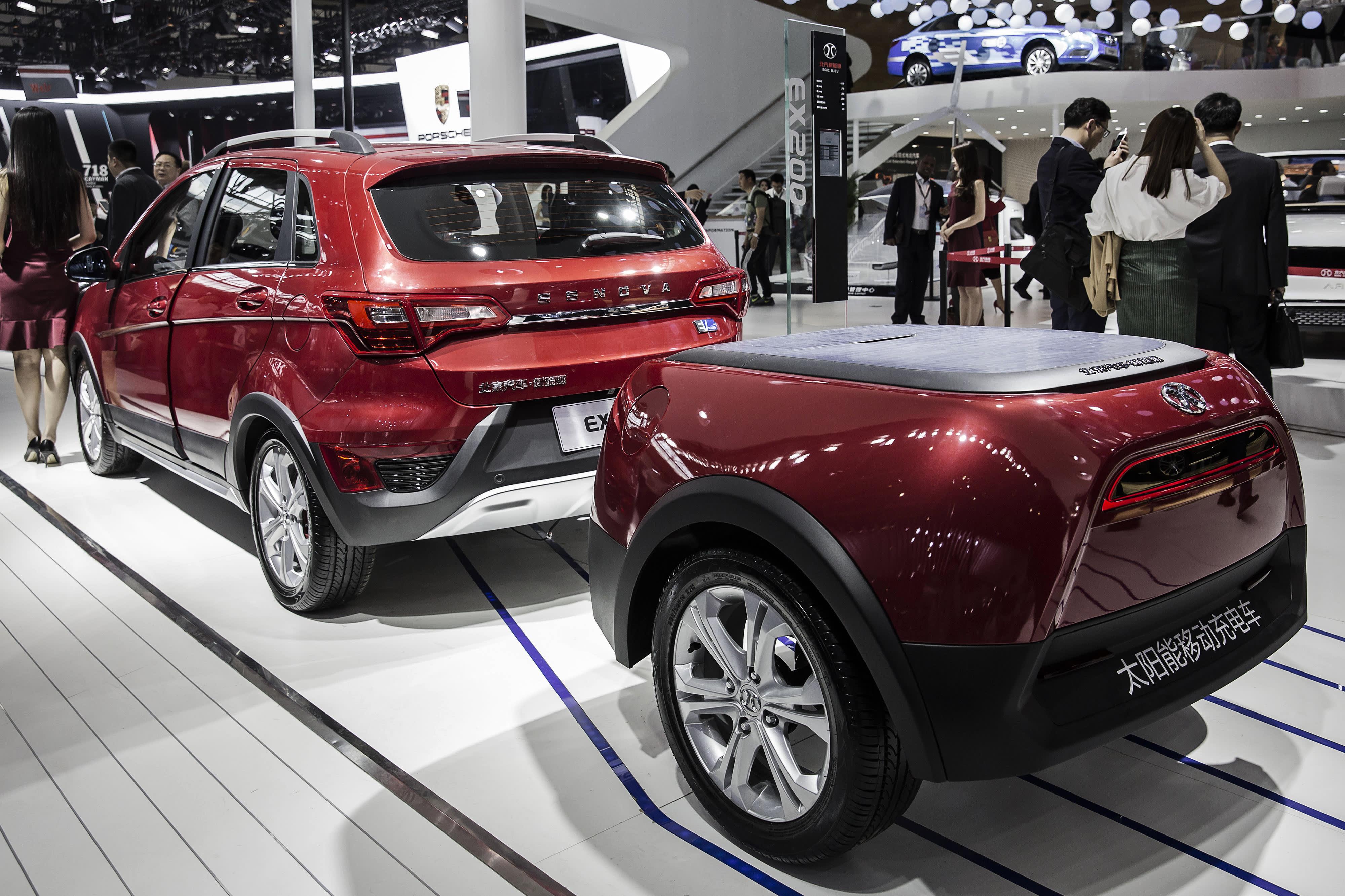 SUVs Dominate The Beijing Auto Show - Sport vehicles