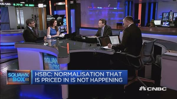 Negative rates are meaningless: HSBC's David Bloom