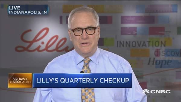 Lilly's quarterly checkup: CEO