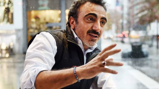Hamdi Ulukaya, founder and CEO of Chobani