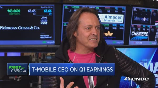 T-Mobile CEO: Numbers astonishing