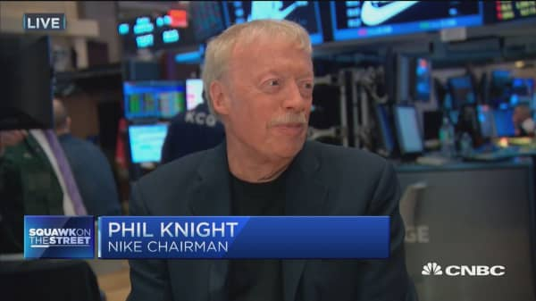 Phil Knight: I was mocked when I wanted to call Nike 'Dimension Six'