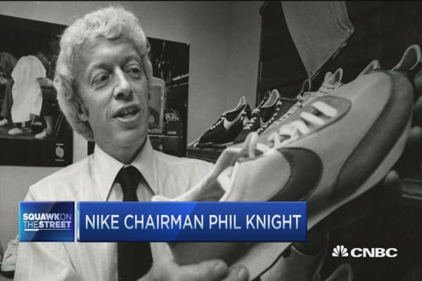 From struggling shoe salesman to founding Nike