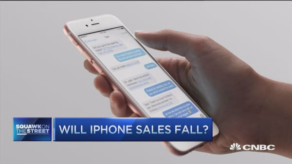 Will iPhone sales fall?