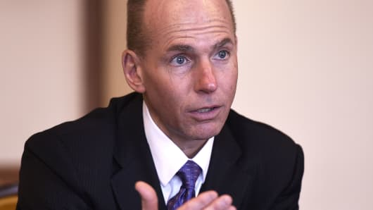 Dennis Muilenburg, Chief Executive Officer of The Boeing Company