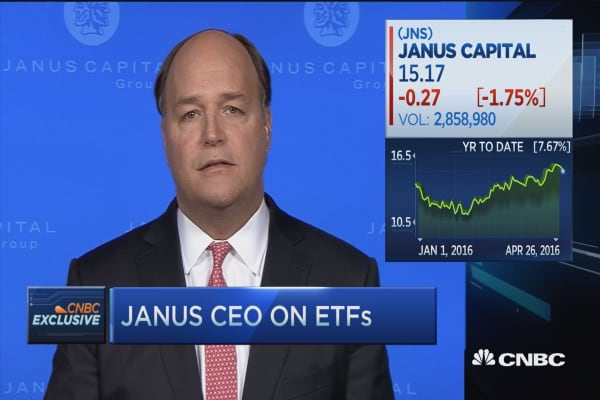 Janus CEO moves into ETFs