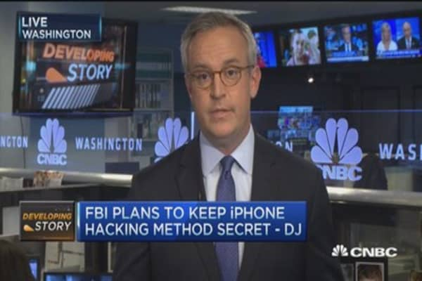 FBI stays quiet on iPhone hacking method